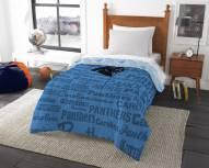 Carolina Panthers Anthem Twin Comforter