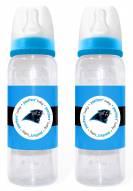 Carolina Panthers Baby Bottles - 2 Pack