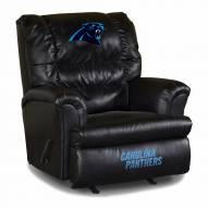 Carolina Panthers Big Daddy Leather Recliner