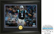 Carolina Panthers Cam Newton Quote Silver Coin Photo Mint