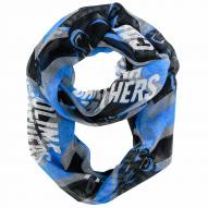 Carolina Panthers Chevron Sheer Infinity Scarf