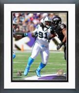 Carolina Panthers Colin Cole 2014 Action Framed Photo