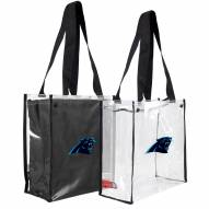 Carolina Panthers Convertible Clear Tote