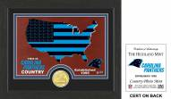 Carolina Panthers Country Bronze Coin Photo Mint