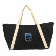 Carolina Panthers Crest Chevron Weekender Bag