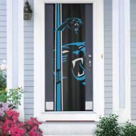 Carolina Panthers Door Banner