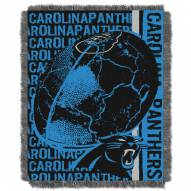 Carolina Panthers Double Play Jacquard Throw Blanket
