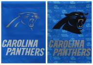 Carolina Panthers Double Sided Glitter Garden Flag