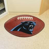 Carolina Panthers Football Floor Mat