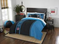 Carolina Panthers Full Comforter & Sham Set