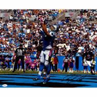 "Carolina Panthers Greg Olson Touchdown Catch Signed 16"" x 20"" Photo"