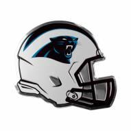 Carolina Panthers Helmet Car Emblem