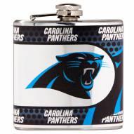 Carolina Panthers Hi-Def Stainless Steel Flask