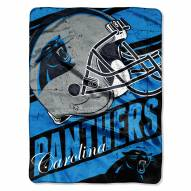 Carolina Panthers Livin' Large Blanket