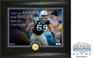 Carolina Panthers Luke Keuchly Quote Silver Coin Photo Mint