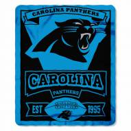 Carolina Panthers Marque Fleece Blanket