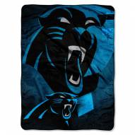 Carolina Panthers Micro Raschel Bevel Blanket