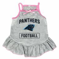Carolina Panthers NFL Gray Dog Dress