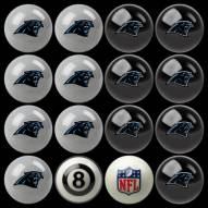 Carolina Panthers NFL Home vs. Away Pool Ball Set