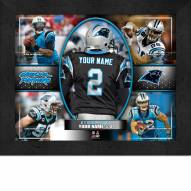 Carolina Panthers Personalized Framed Action Collage