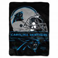 Carolina Panthers Prestige Raschel Blanket