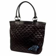 Carolina Panthers Quilted Tote Bag