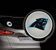 Carolina Panthers Light Up Power Decal