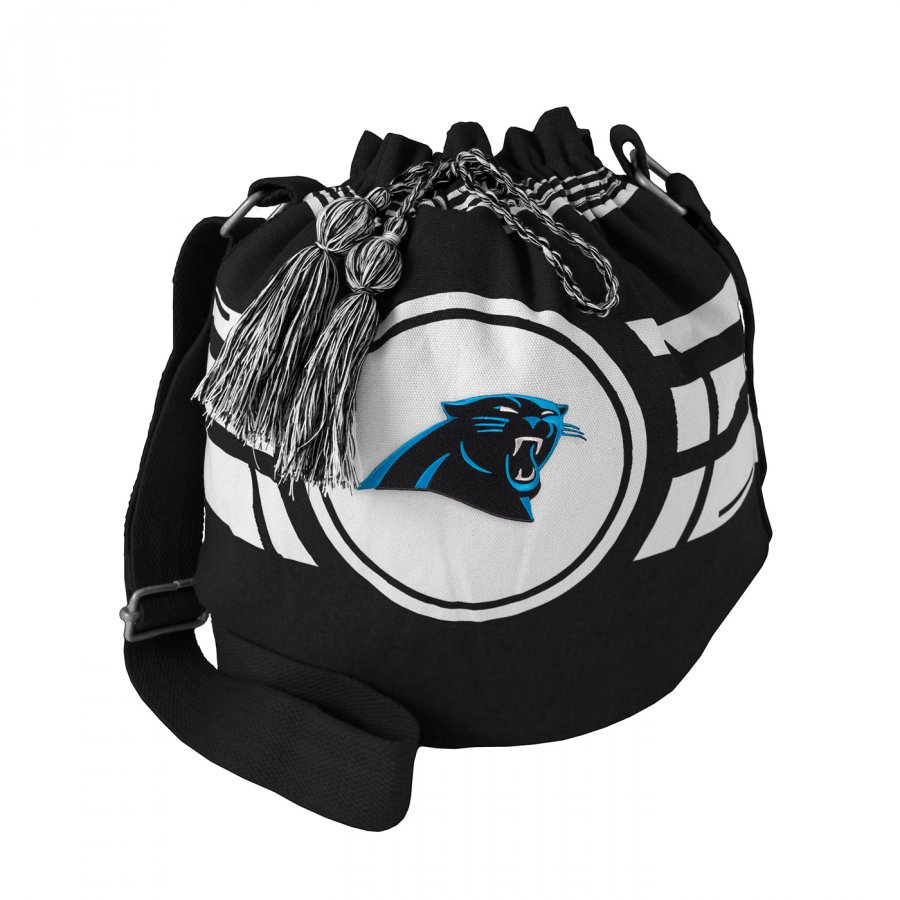 Carolina Panthers Ripple Drawstring Bucket Bag