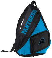 Carolina Panthers Sideswipe Sling Backpack