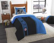 Carolina Panthers Twin Comforter & Sham Set