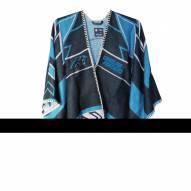 Carolina Panthers Whipstitch Poncho