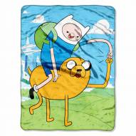 Cartoon Network Adventure Time Micro Raschel Throw Blanket