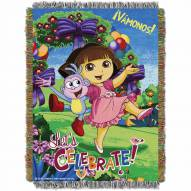 Celebrate Dora Throw Blanket