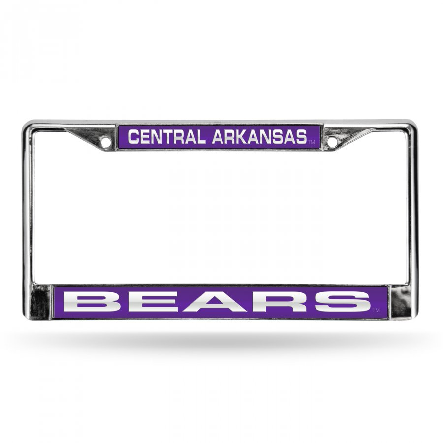 Central Arkansas Bears Laser Chrome License Plate Frame