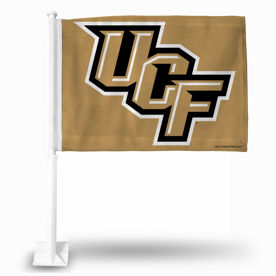 Central Florida Knights College Car Flag
