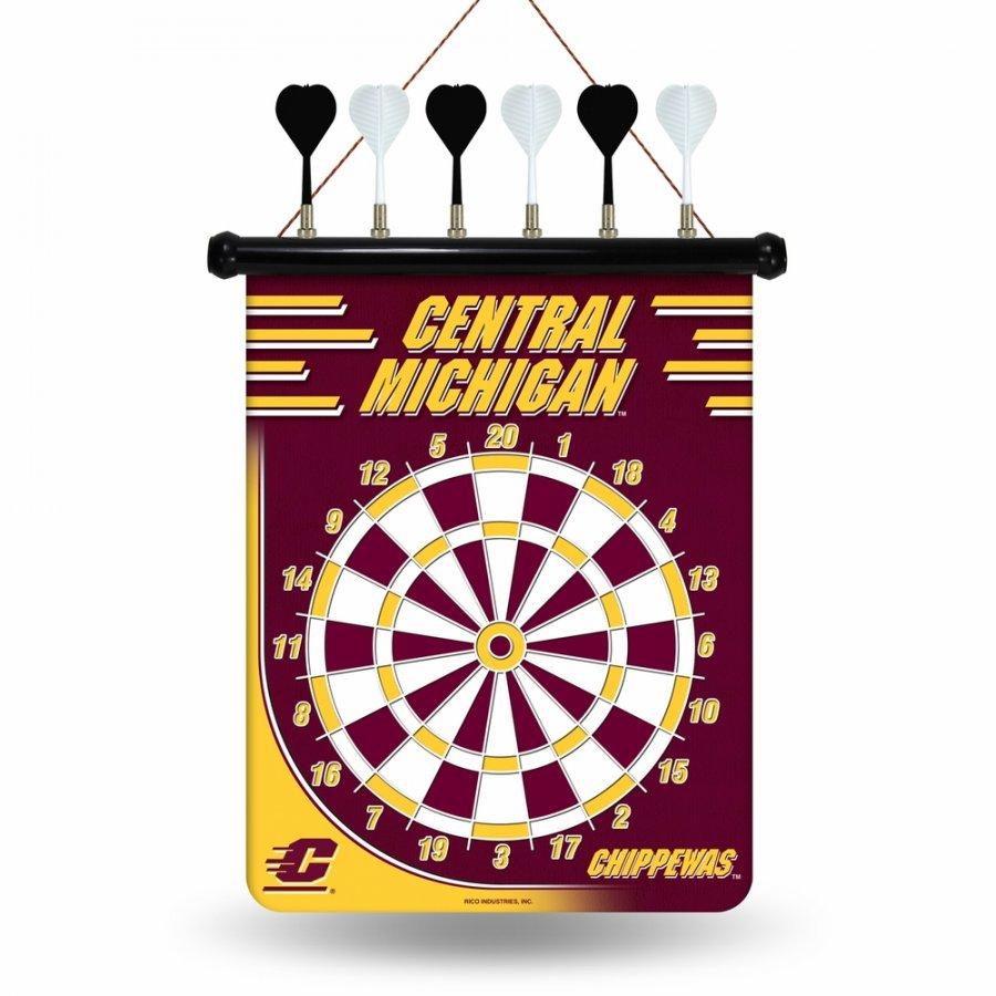 Central Michigan Chippewas Magnetic Dart Board
