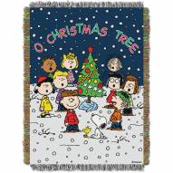 Charlie Brown Christmas Throw Blanket