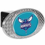 Charlotte Bobcats Metal Diamond Plate Trailer Hitch Cover