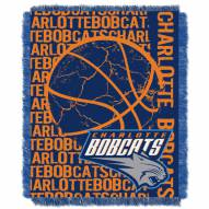 Charlotte Bobcats Woven Jacquard Throw Blanket