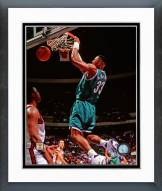 Charlotte Hornets Alonzo Mourning Action Framed Photo