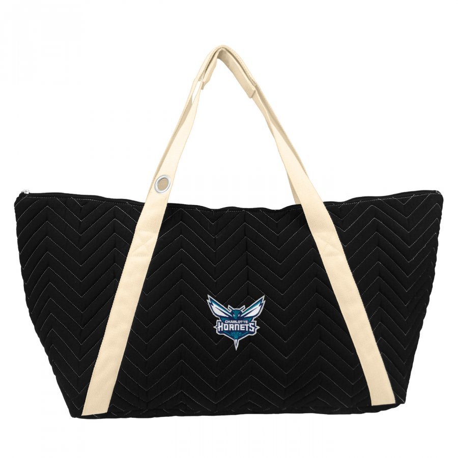 Charlotte Hornets Chevron Stitch Weekender Bag