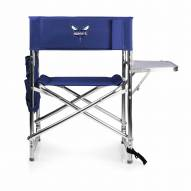Charlotte Hornets Navy Sports Folding Chair