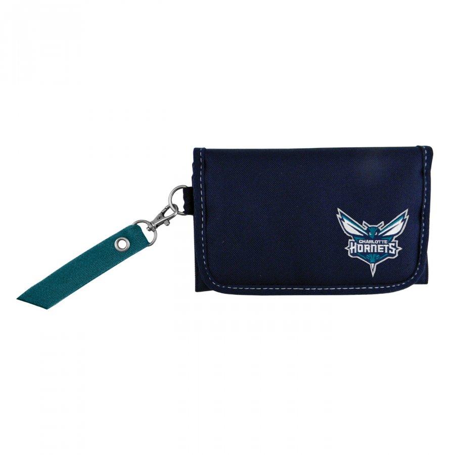 Charlotte Hornets Ribbon Organizer Wallet