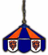 "Chicago Bears 14"" Glass Pub Lamp"