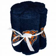 Chicago Bears 6 Pack Washcloths