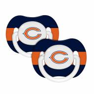 Chicago Bears Pacifiers - 2 Pack
