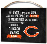 Chicago Bears Best Things Small Plaque