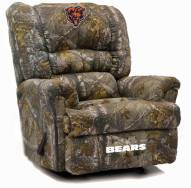 Chicago Bears Big Daddy Camo Recliner