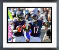 Chicago Bears Brandon Marshall & Alshon Jeffery 2014 Action Framed Photo