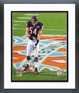 Chicago Bears Brian Urlacher SuperBowl XLI Framed Photo